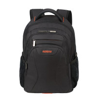 "American Tourister AT Work Laptop Backpack 15.6"" Black/Orange"