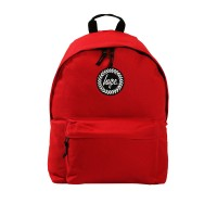 Hype Badge Rugzak Red