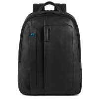 "Piquadro Pulse Small Computer Backpack 14"" Black"