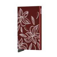Secrid Cardprotector Kaarthouder Laser Magnolia Bordeaux