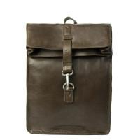 """Cowboysbag Backpack Little Doral Laptop 13"""" Dark Green 2259"""