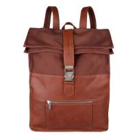 """Cowboysbag Backpack Hunter Laptop 15.6"""" Cognac 2276"""