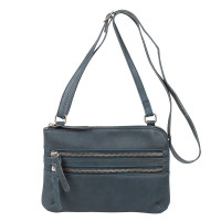 Cowboysbag Bag Tiverton Schoudertas Petrol 1677