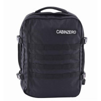 CabinZero Military 28L Lightweight Adventure Bag Absolute Black