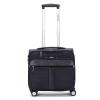 Decent B-Corso Business Trolley Black/Cobalt Blue