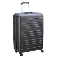 Delsey Carlit 4 Wheel Trolley 76 Brushed Silver