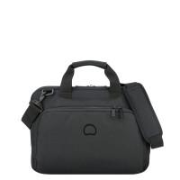 """Delsey Esplanade Laptop Bag 1-CPT 13.3"""" Deep Black"""