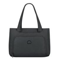 """Delsey Esplanade Business Shopping Bag 14.1"""" Deep Black"""