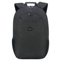"Delsey Esplanade Laptop Backpack 15.6"" Deep Black"