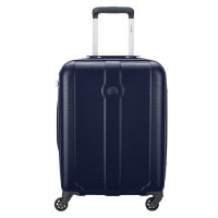 Delsey Kea 4 Wheel Cabin Trolley Slim 55 Navy