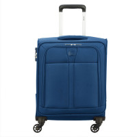 Delsey Maloti Trolley Cabin Slim 4 Wheel 55 Navy