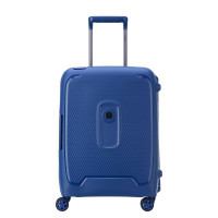 Delsey Moncey 4 Wheel Slim Cabin Trolley 55 Navy