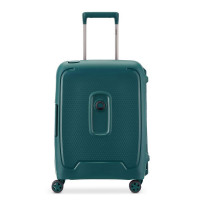 Delsey Moncey 4 Wheel Slim Cabin Trolley 55 Green