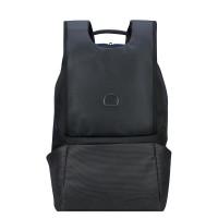 """Delsey Montgallet 2-Cpt Backpack 14"""" Silver"""