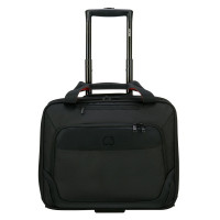 "Delsey Parvis Plus Boardcase Trolley Cabin 1-CPT 15.6"" Black"