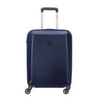 Delsey Pilatus Slim Cabin Trolley Case 4 Wheel 55 Dark Blue