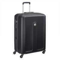 Delsey Planina Trolley Case 4 Wheel 76 Black