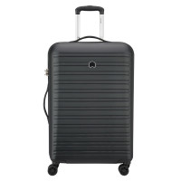 Delsey Segur Trolley Case 4 Wheel 70 Black