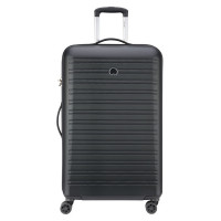 Delsey Segur Trolley Case 4 Wheel 78 Black
