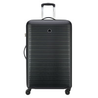 Delsey Segur Trolley Case 4 Wheel 81 Black