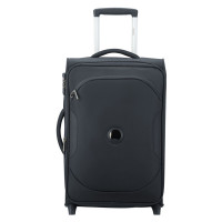 Delsey U-Lite Classic 2 Universal Slim Cabin Trolley Case 2 Wheel 55 Exp. Anthracite