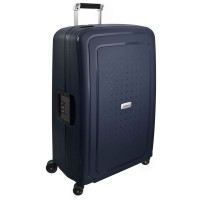 Samsonite S'Cure Deluxe Spinner 75 Midnight Blue