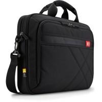 "Case Logic DLC117 17"" Laptop Briefcase Black"