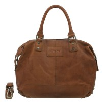 DSTRCT Northfields Way Handbag Schoudertas Brown 221230