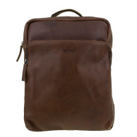 DSTRCT Raider Road Laptop Backpack Cognac 360430