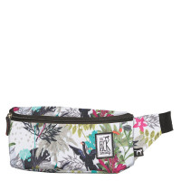 The Pack Society The Bum Bag Multicolor Jungle Allover