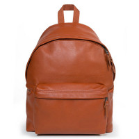 Eastpak Padded Pak'r Rugzak Cognac Leather