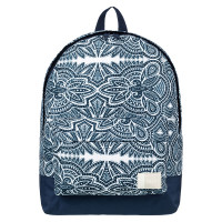 Roxy Sugar Baby Solid Backpack Marshmallow Tribal Vibes Strip
