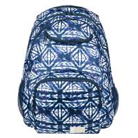 Roxy Shadow Swell Backpack Dress Blues Geomatric Feeling