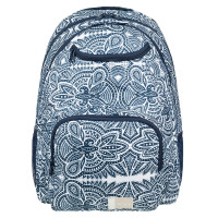 Roxy Shadow Swell Backpack Shadow Swell Marhsmallow Tribal Vibes