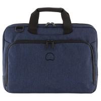 """Delsey Esplanade Laptop Bag 1-CPT 15.6"""" Navy"""
