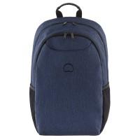 "Delsey Esplanade Laptop Backpack 15.6"" Navy"