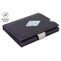 Exentri Wallet met RFID Bescherming Purple Haze