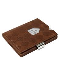 Exentri Wallet met RFID Bescherming Hazelnut Chess