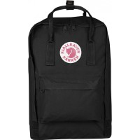 "FjallRaven Kanken Laptop 15"" Rugzak Black"