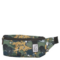 The Pack Society The Bum Bag Green Camo Allover