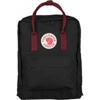 FjallRaven Kanken Rugzak Black/Ox Red