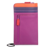 Mywalit Neck Purse/ Wallet Portemonnee Sangria Multi