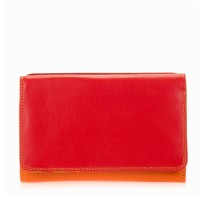 Mywalit Medium Tri-Fold Wallet Outer Zip Portemonnee Jamaica