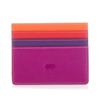 Mywalit Double Sided Credit Card Holder Sangria Multi
