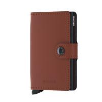 Secrid Mini Wallet Portemonnee Matte Brick