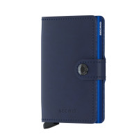 Secrid Mini Wallet Portemonnee Original Navy Blue