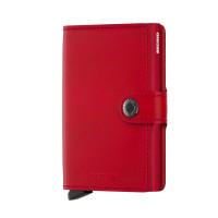 Secrid Mini Wallet Portemonnee Original Red Red