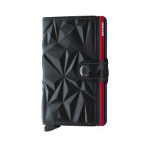 Secrid Mini Wallet Portemonnee Prism Black Red