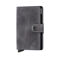 Secrid Mini Wallet Portemonnee Vintage Grey Black