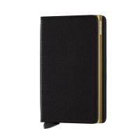 Secrid Slim Wallet Portemonnee Crisple Black Gold